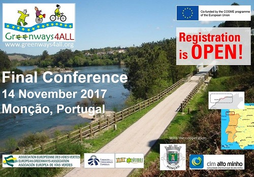 El Proyecto europeo Greenways 4 All celebra su Conferencia Final